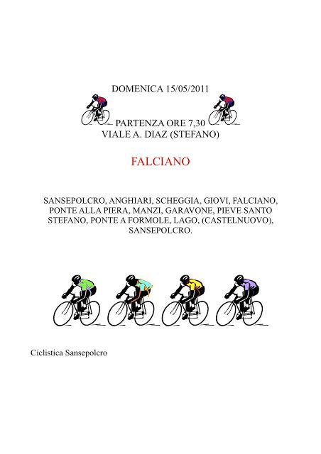 Giro Domenica 15 Maggio 2011