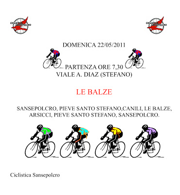 Giro Domenica 22 Maggio 2011